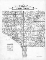 Anoka County Map, Anoka County 1911c